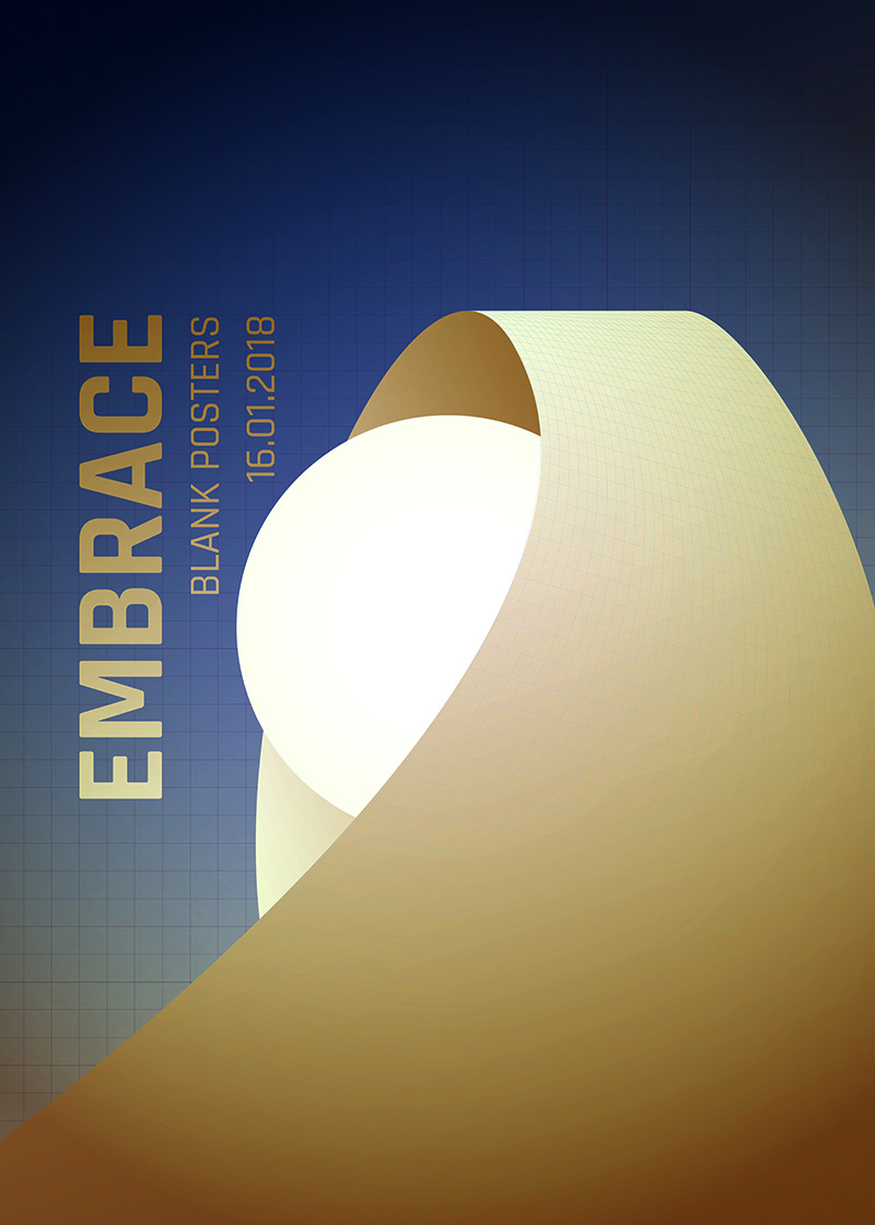Blankposter :: Embrace