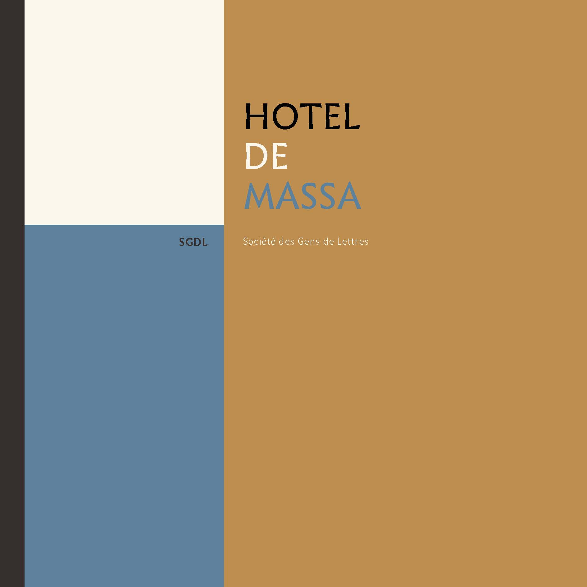 Hôtel de Massa Cover