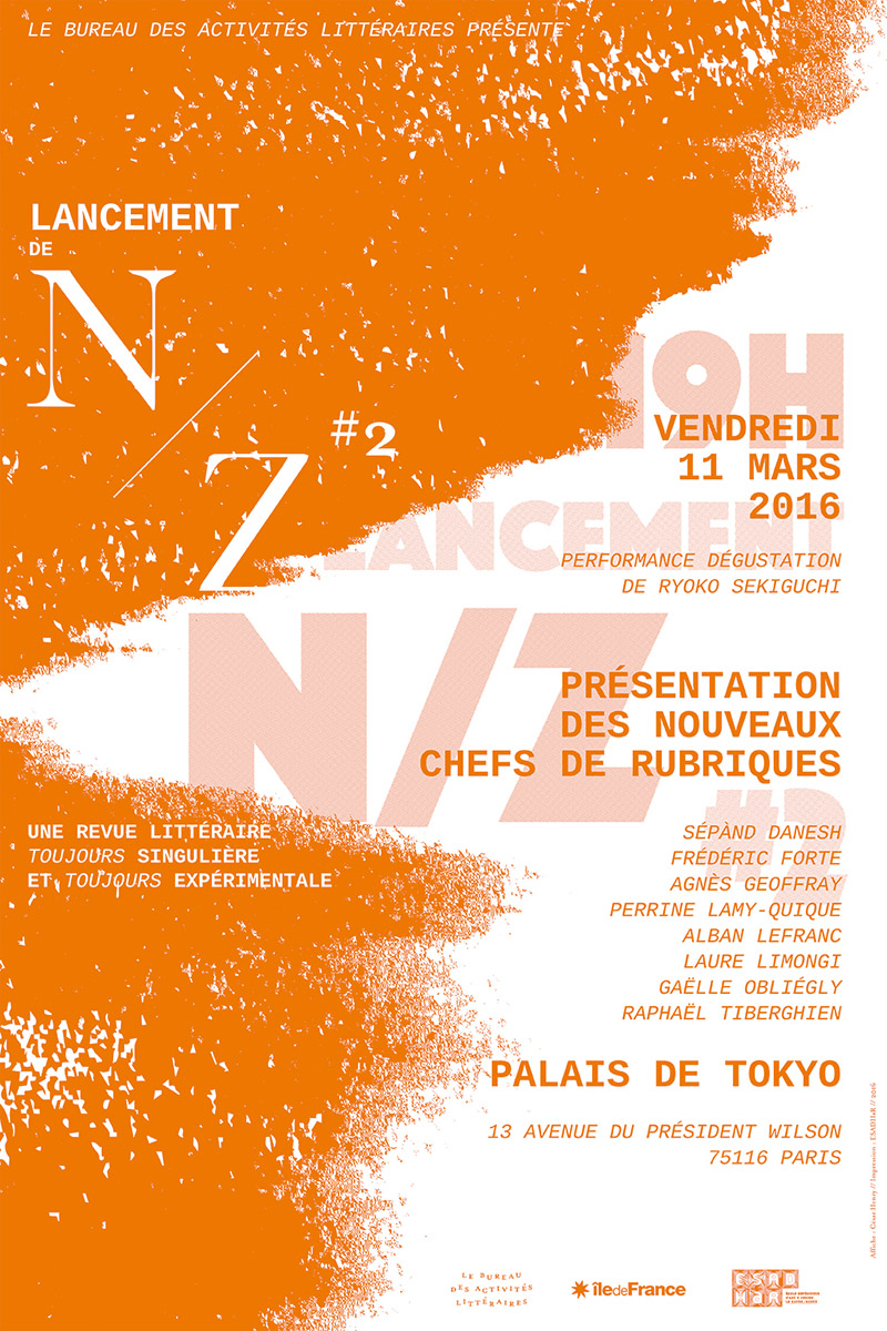 N/Z :: Launch party poster