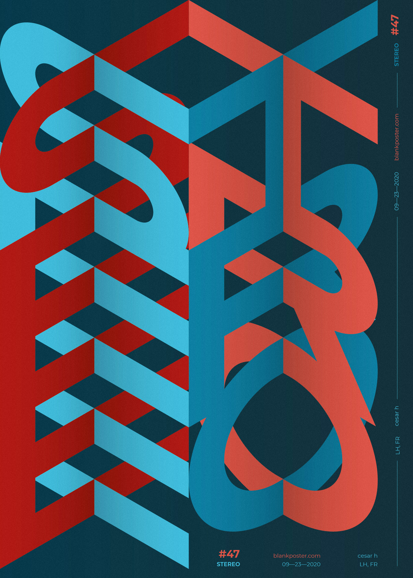 Blankposter :: Stereo