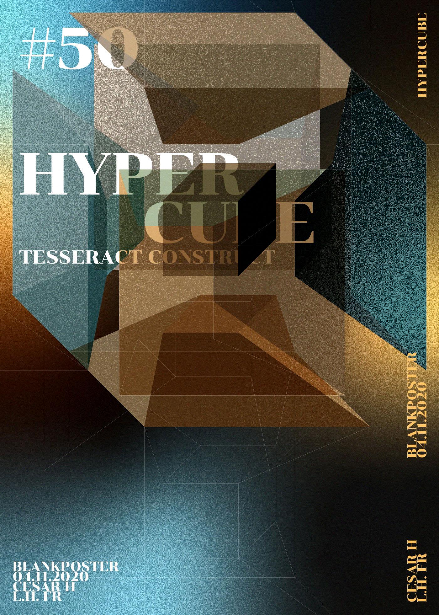 Blankposter :: Hypercube
