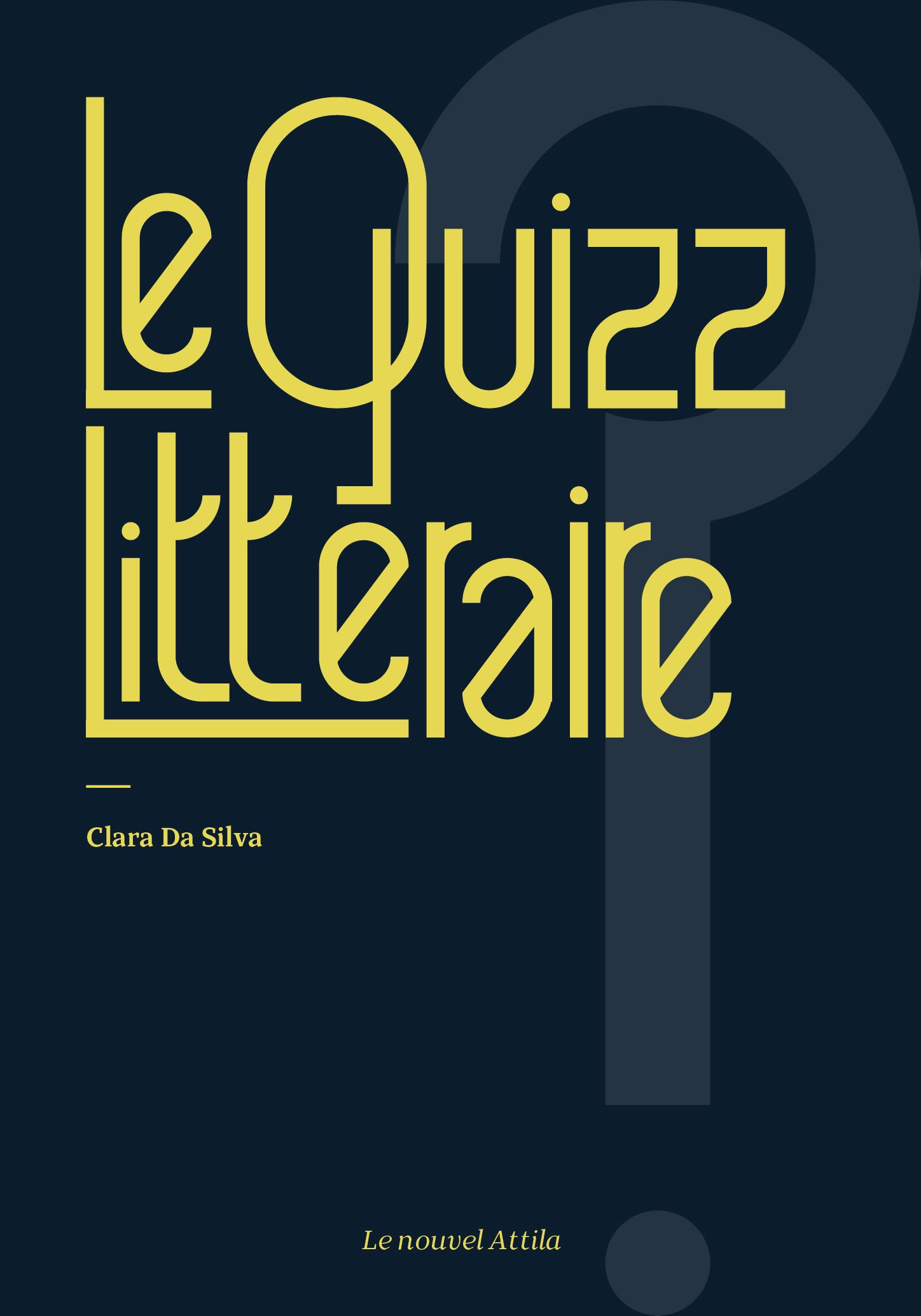 Le Quizz Littéraire :: Book cover